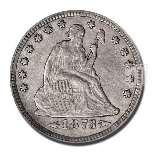Quarter Dollar | KM 106 | O