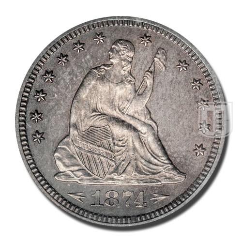 Quarter Dollar   KM 106   O