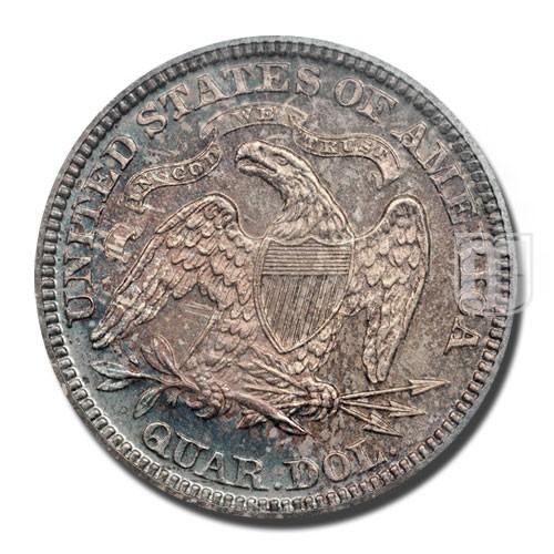 Quarter Dollar   KM 106   R