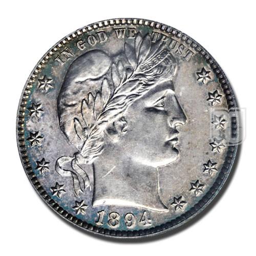 Quarter Dollar | KM 114 | O