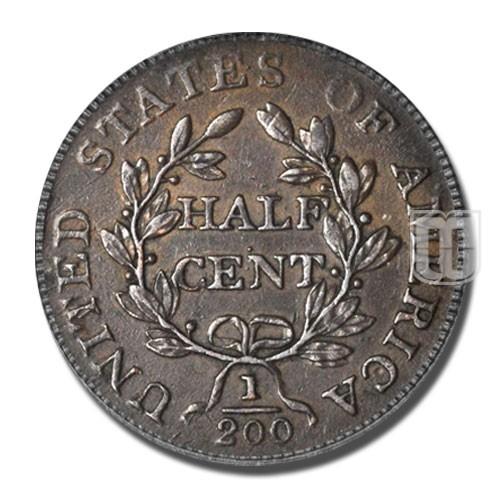 Half Cent | KM 33 | R