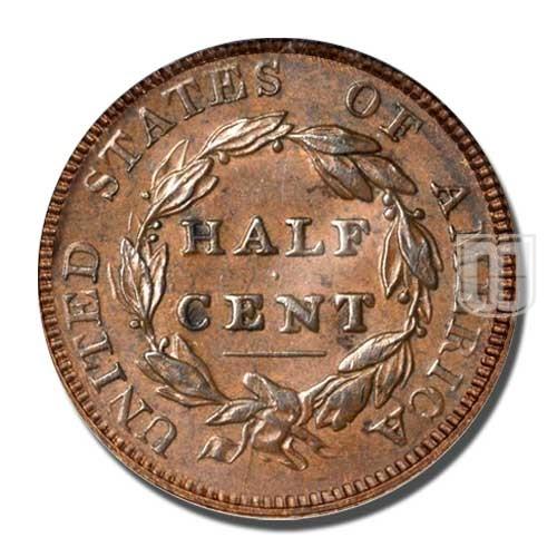 Half Cent | KM 41 | R