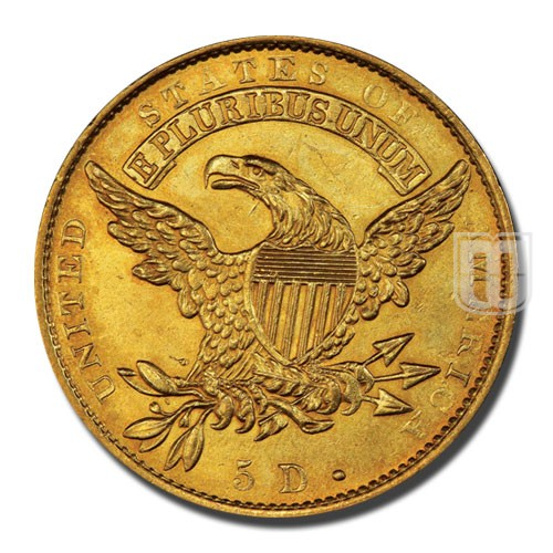 Half Eagle | KM 43 | R