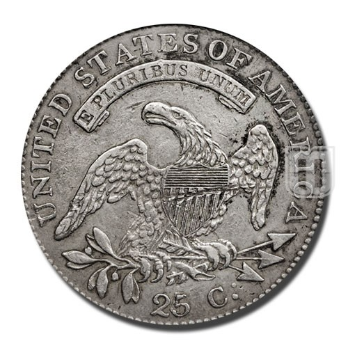 Quarter Dollar   KM 44   R