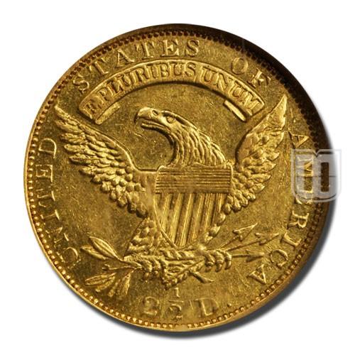 Quarter Eagle   KM 49   R