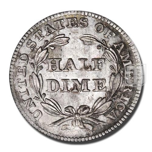 Half Dime | KM 62.2 | R