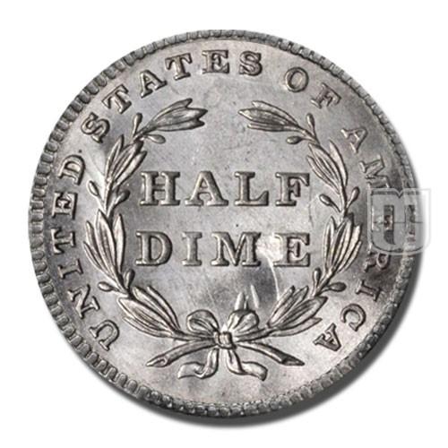Half Dime | KM 62.1 | R