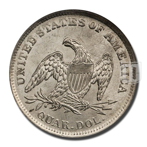 Quarter Dollar | KM 64.1 | R