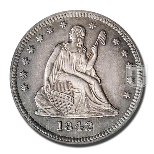 Quarter Dollar | KM 64.2 | O