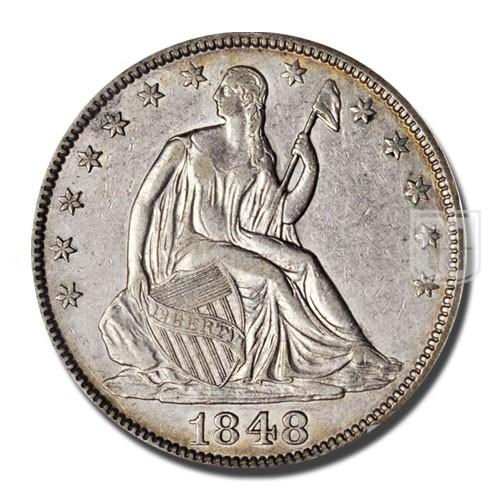 Half Dollar | KM 68 | O