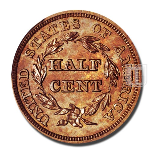Half Cent | KM 70 | R
