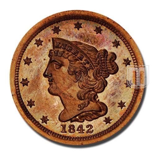 Half Cent | KM 70 | O