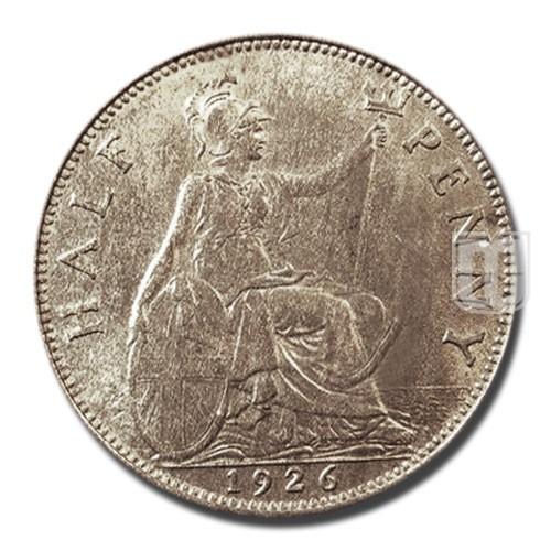 Half Penny | KM 824 | R