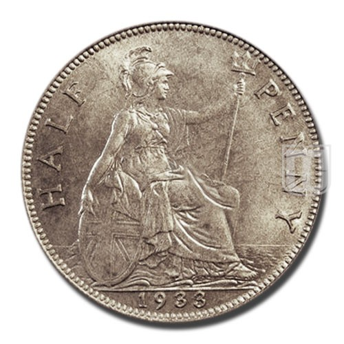 Half Penny | KM 837 | R