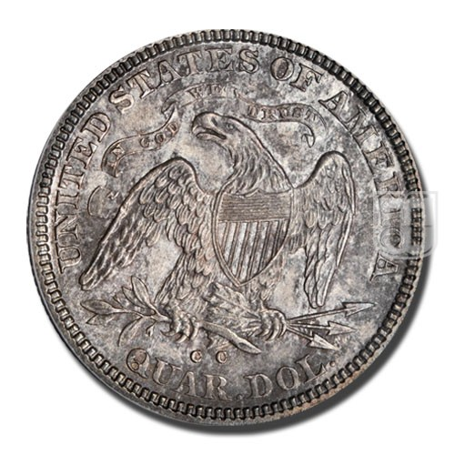 Quarter Dollar   KM 98   R