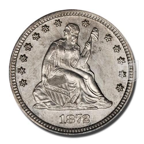 Quarter Dollar   KM 98   O