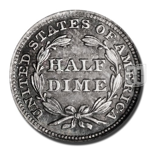 Half Dime | KM A62.2 | R