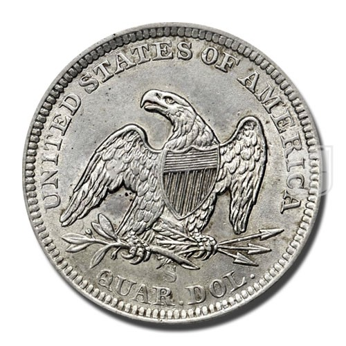 Quarter Dollar | KM A64.2 | R