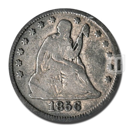 Quarter Dollar | KM A64.2 | O