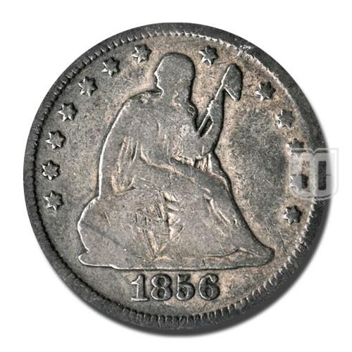 Quarter Dollar | KM A64.2 | O