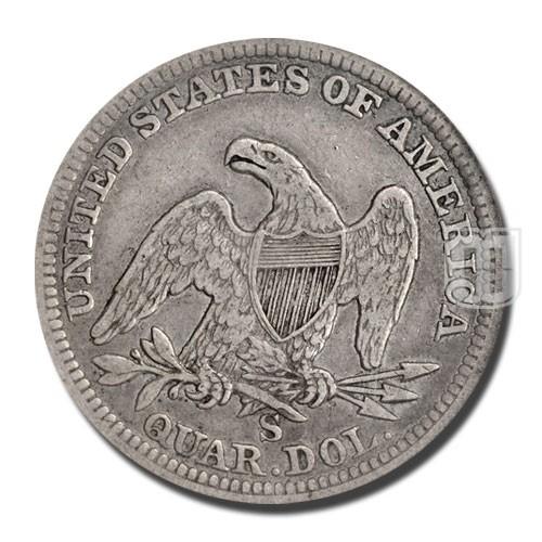 Quarter Dollar | KM A64.2 | R