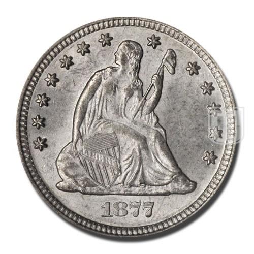 Quarter Dollar | KM A98 | O
