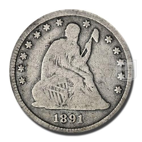 Quarter Dollar   KM A98   O