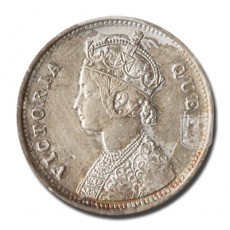 1/4 Rupee | KM# 470,PR.376 | O