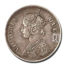1/4 Rupee | KM# 470,PR.381 | O