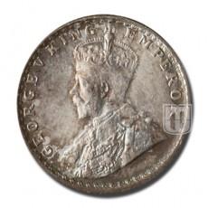 1/4 Rupee | KM# 518,PR.443 | O