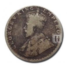 1/4 Rupee | KM# 518,PR.457 | O