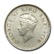 1/4 Rupee | KM# 544,PR.461 | O