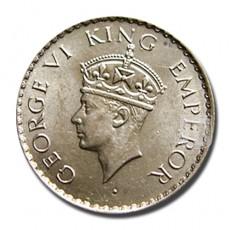 1/4 Rupee | KM# 545,PR.463 | O