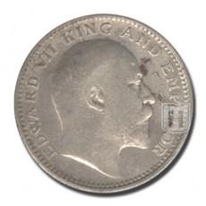 Half Rupee | KM# 507,PR.314 | O