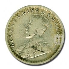 Half Rupee | KM# 521,PR.318 | O