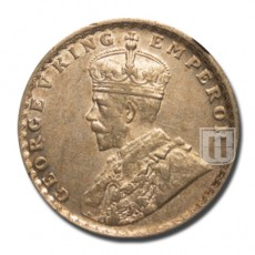 Half Rupee | KM# 522 | O