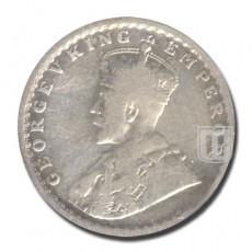 Half Rupee | KM# 522,PR.328 | O