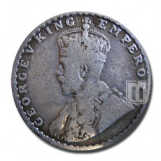 Half Rupee | KM# 522,PR.349 | O