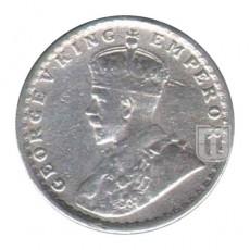 Half Rupee | KM# 522,PR.333 | O