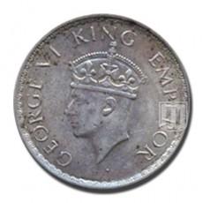 Half Rupee | KM# 550a,PR.354 | O