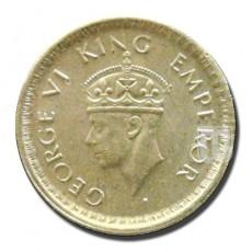 Half Rupee | KM# 552,PR.366 | O
