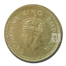 Half Rupee | KM# 552,PR.369 | O