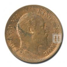One Quarter Anna | KM# 501,PR.646 | O