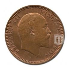 One Quarter Anna | KM# 501,PR.648 | O