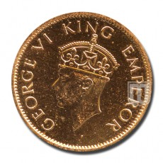 One Quarter Anna | KM# 530 | O
