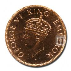 One Quarter Anna   KM# 531   O
