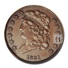 Half Cent | KM 41 | O