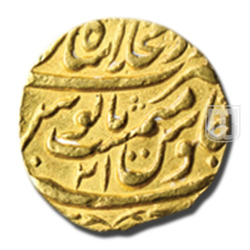 Mohur   Bombay Auctions A06/L636   R